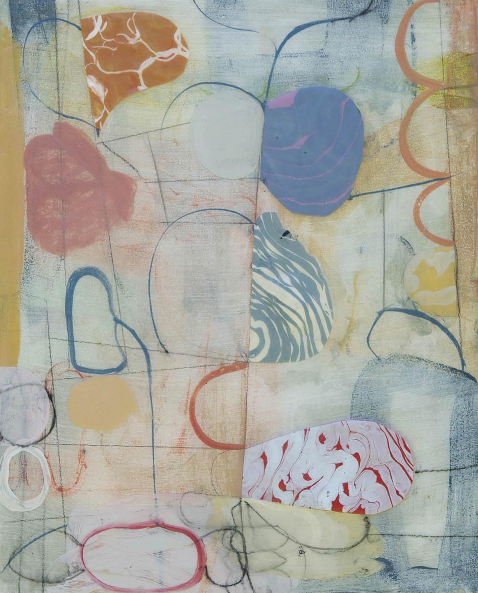 "Fog No. 1  2015  acrylic on panel16"" x 20"""