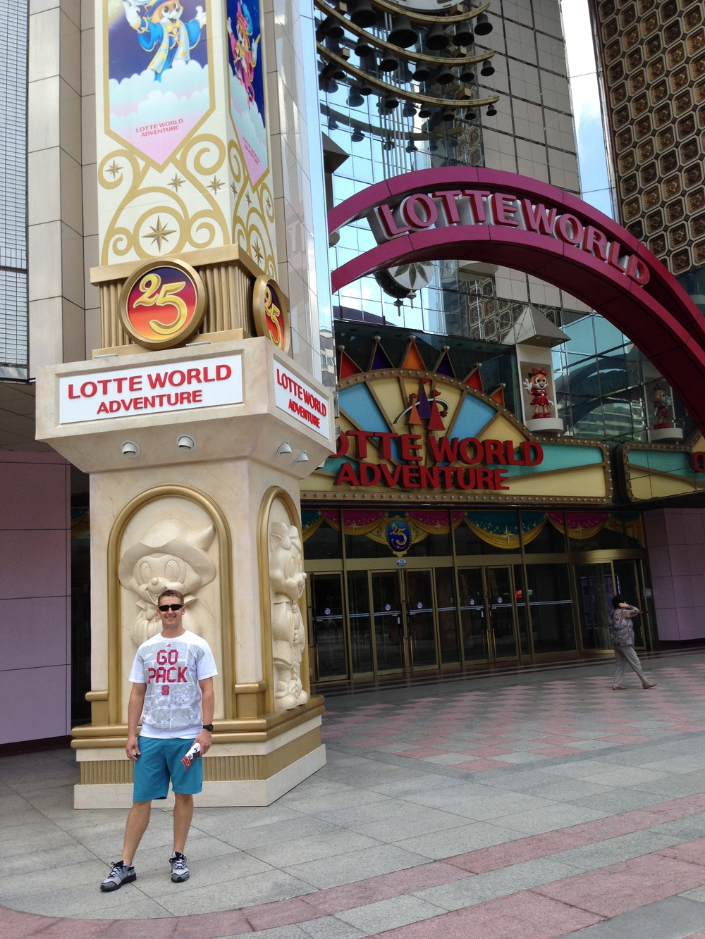 "LotteWorld = Korean Disney. Most of it is indoors and underground. We had a blast riding roller coasters, exploring, and watching the ""shows."" Jeremy won 1st place in a 4D theater ride/game out of 50 people and no lotteworld trip is complete without some Ice Skating!"