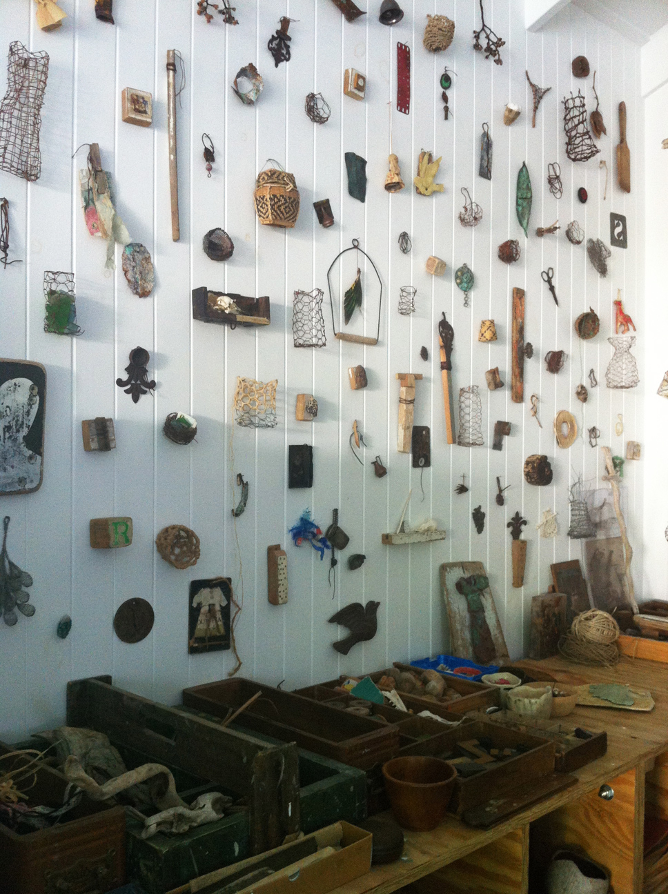 Ngaio Lenz's studio