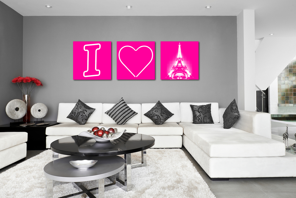 I HEART PARIS - PINK - 2