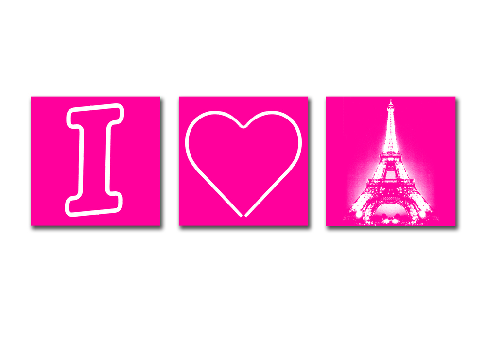 I HEART PARIS - PINK