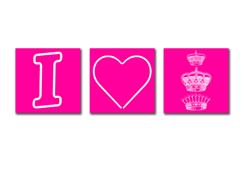 I HEART ROYALTY - PINK