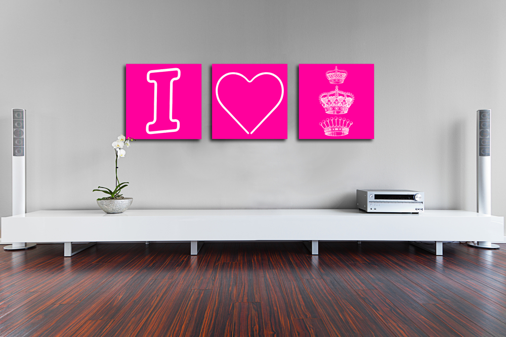 I HEART ROYALTY - PINK - 1