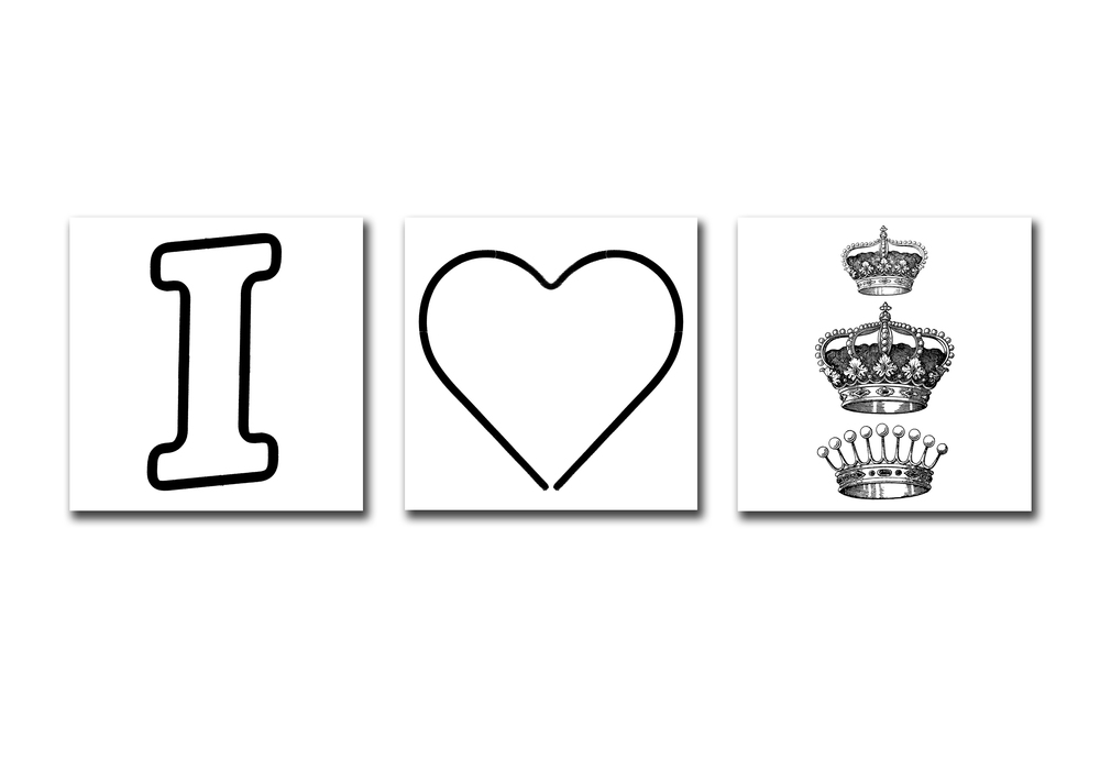 I HEART ROYALTY - WHITE