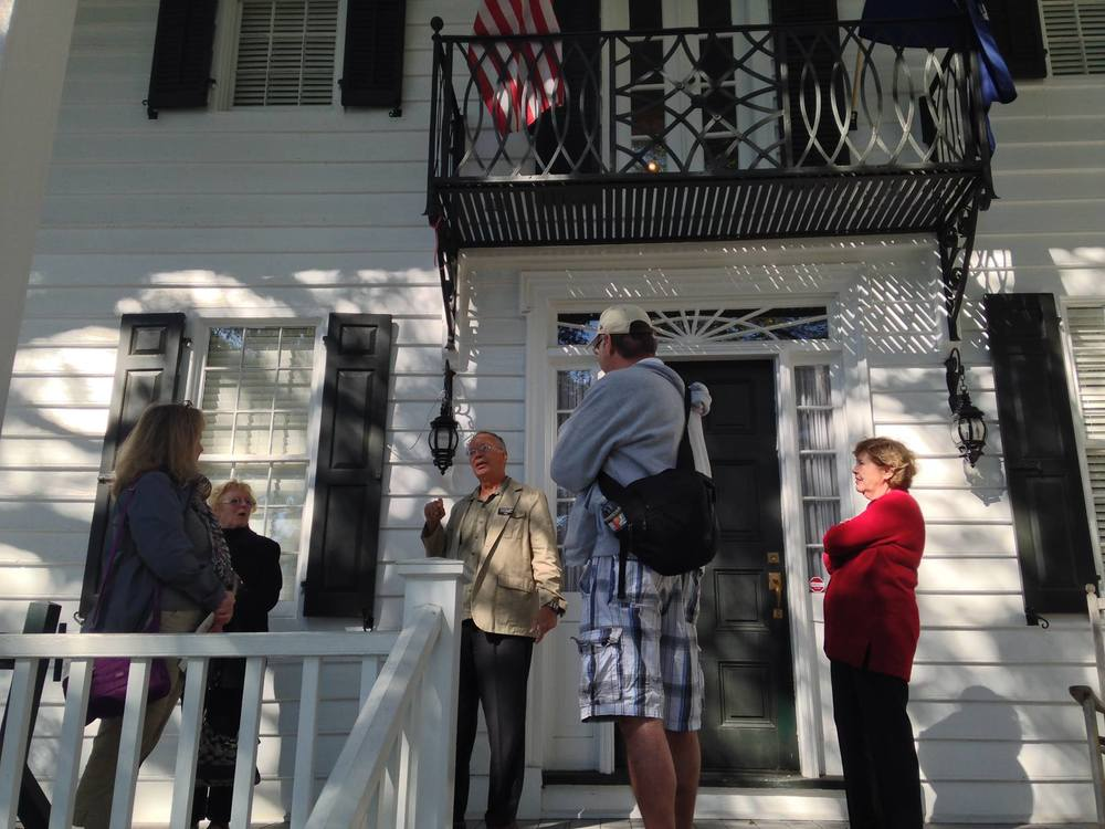 Volunteer docents at the Kaminski House Museum love to share their knowledge of history in a good story.