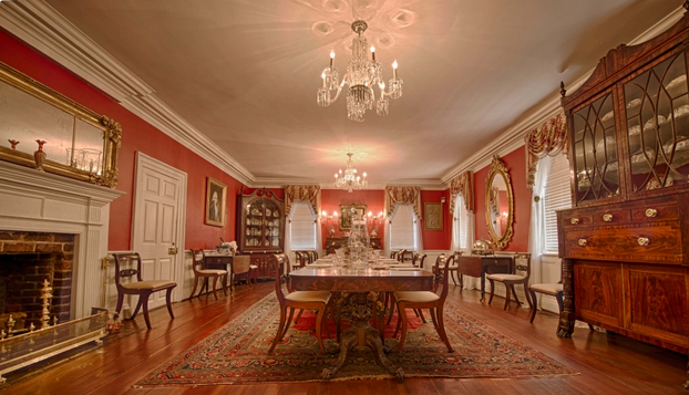 Kaminski House Dining Room
