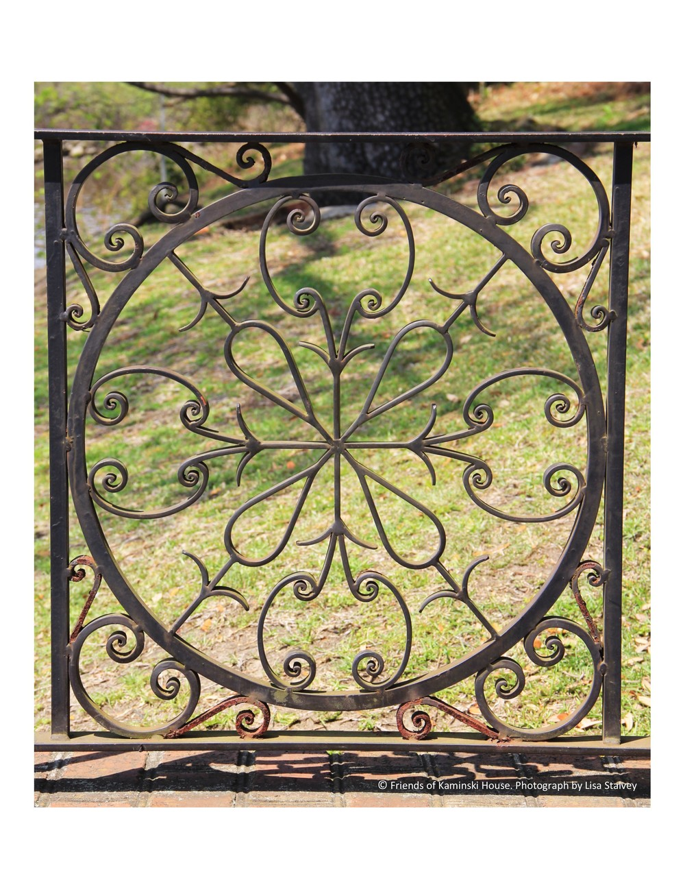 Unique iron work