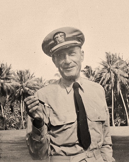 Harold Kaminski stationed in Pearl Harbor, HI, 1941