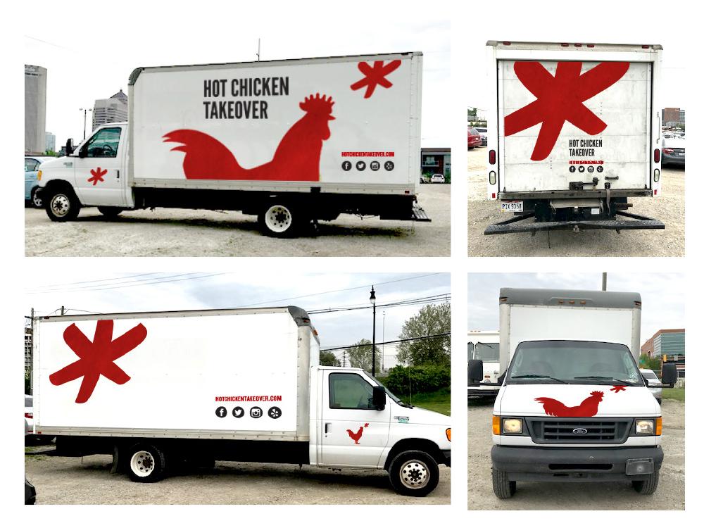 Hot Chicken Takeover Kevin D Glenn Graphic Designer Columbus Oh