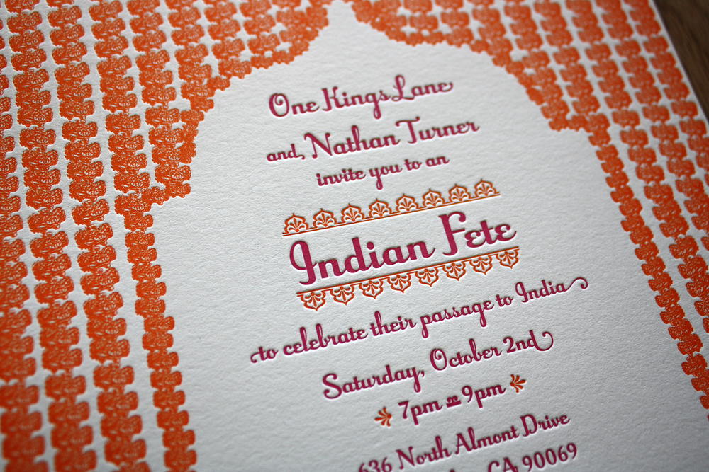 San francisco bay area letterpress printing samples paper monkey ntindian partyg reheart Choice Image