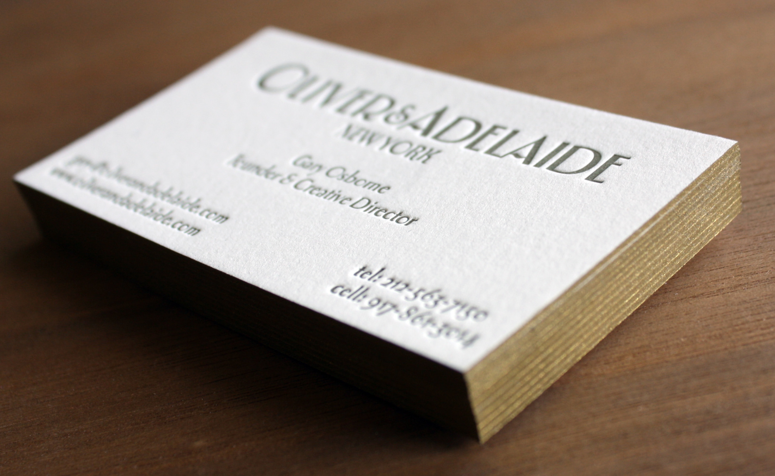 Oliver and Adelaide Note Cards, Tags and Business Cards — Paper ...