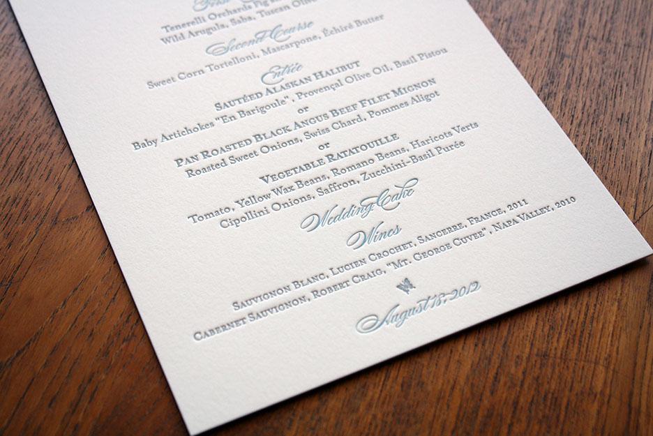 letterpress menu 2