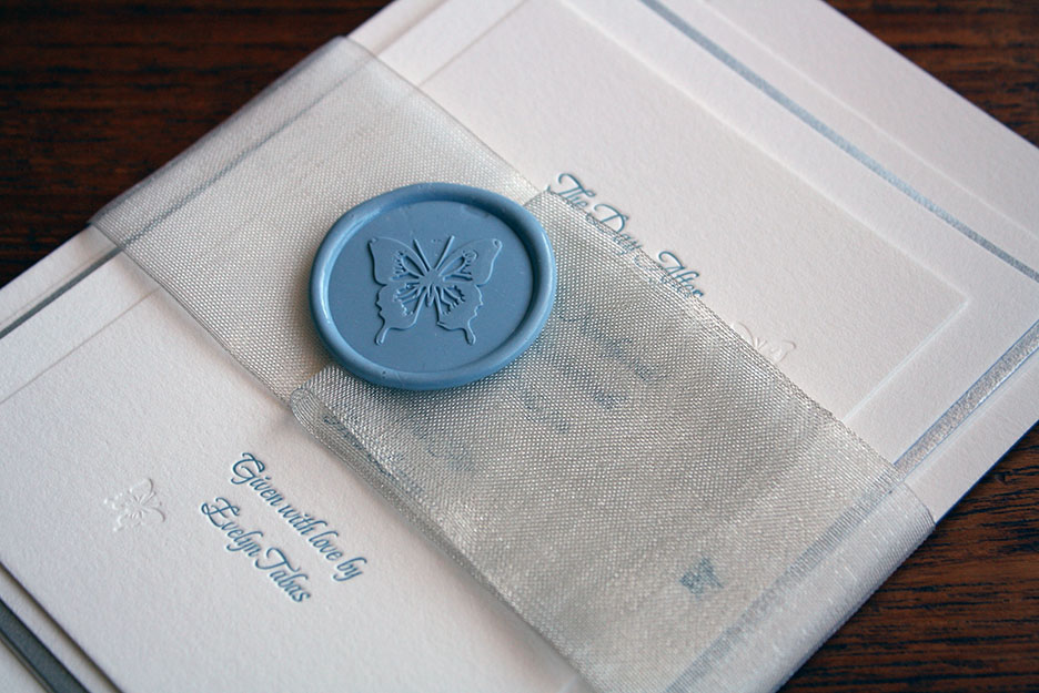 wax seal letterpress suite