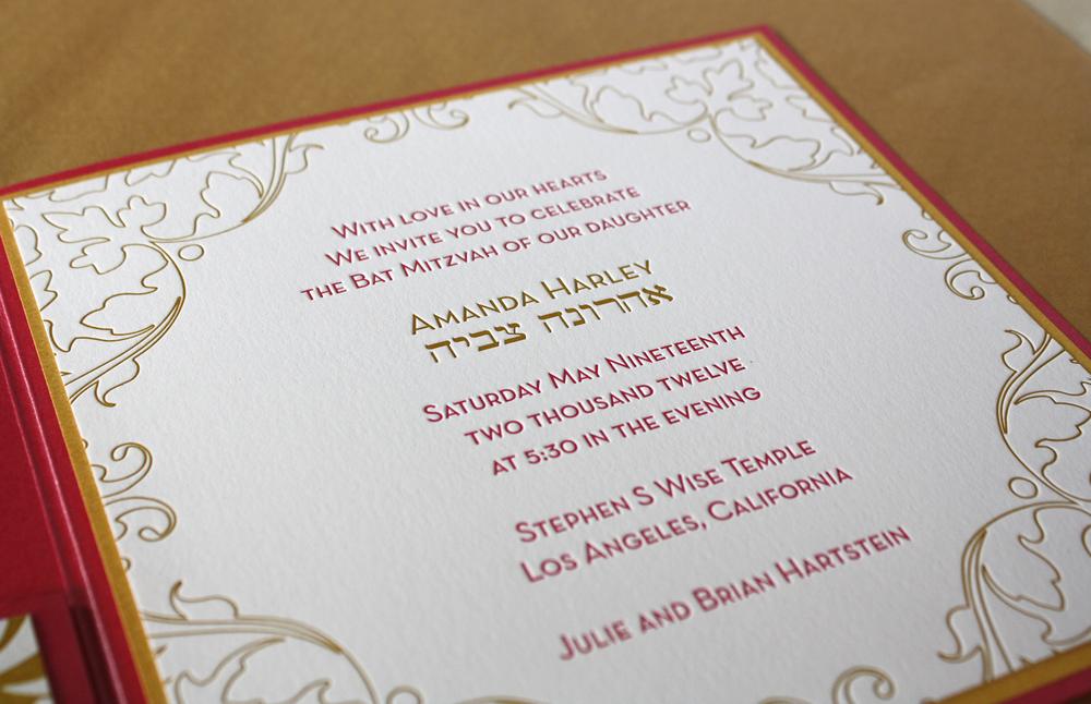 San Francisco Bay Area letterpress printing samples — Paper Monkey ...