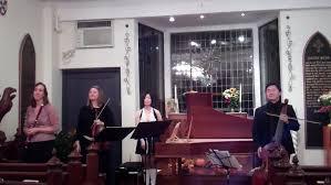 Susan Graham, flute; Claire Smith Bermingham, violin; Nancy Kito, harpsichord; Arnie Tanimoto, gamba
