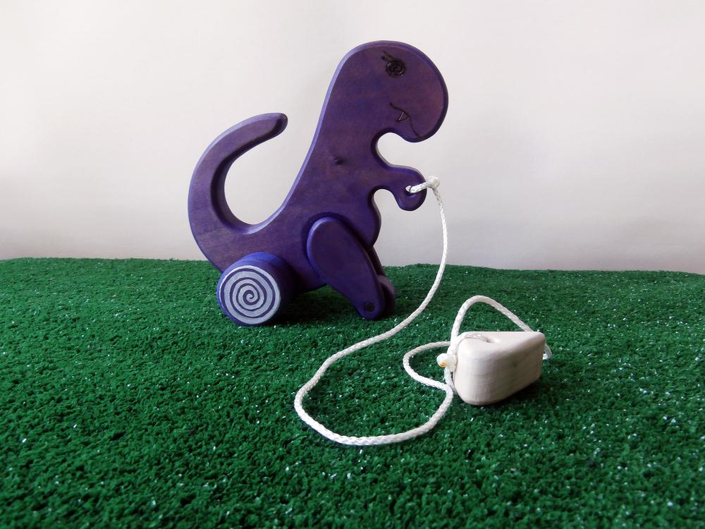The Purple mesmerizing dino.