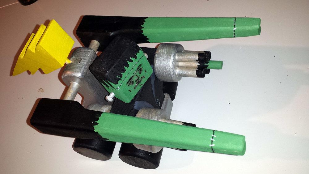 Frankenstein Inspired Robot Tank.
