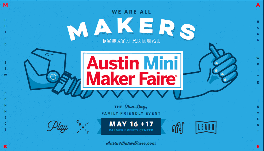 Join Chaos Woods at Austin Mini Maker Faire, May 16 & 17, http://austinmakerfaire.com/maker/chaos-woods/