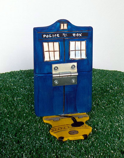 We're also really excited about the new flippin' Tardis!