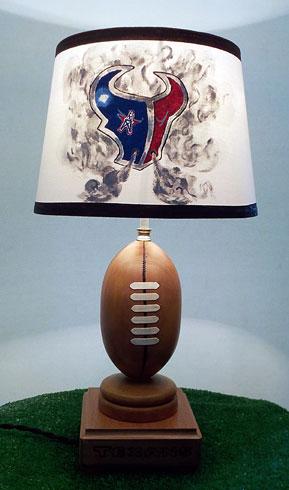 Texans lamp on