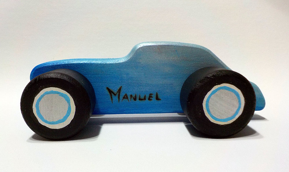 Custom car for Manuel