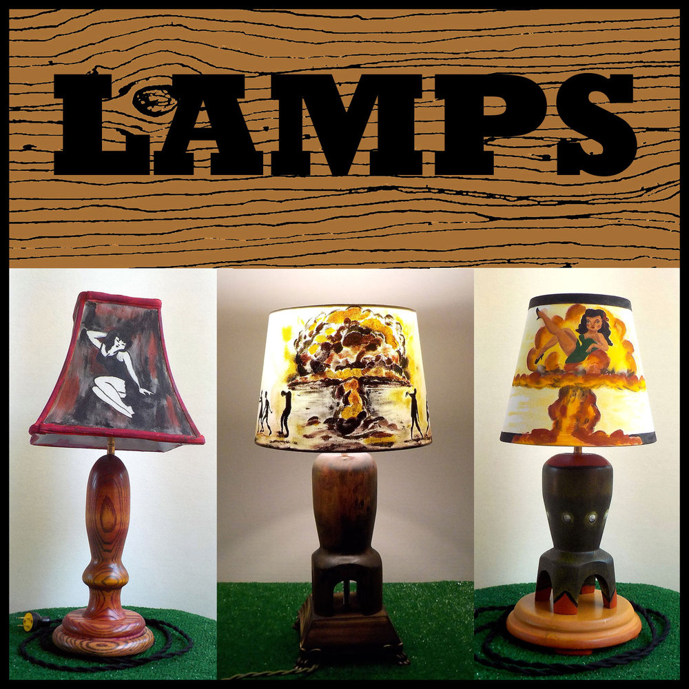 Lamps: See our collection of unique one-of-a-kind artistic lamps.