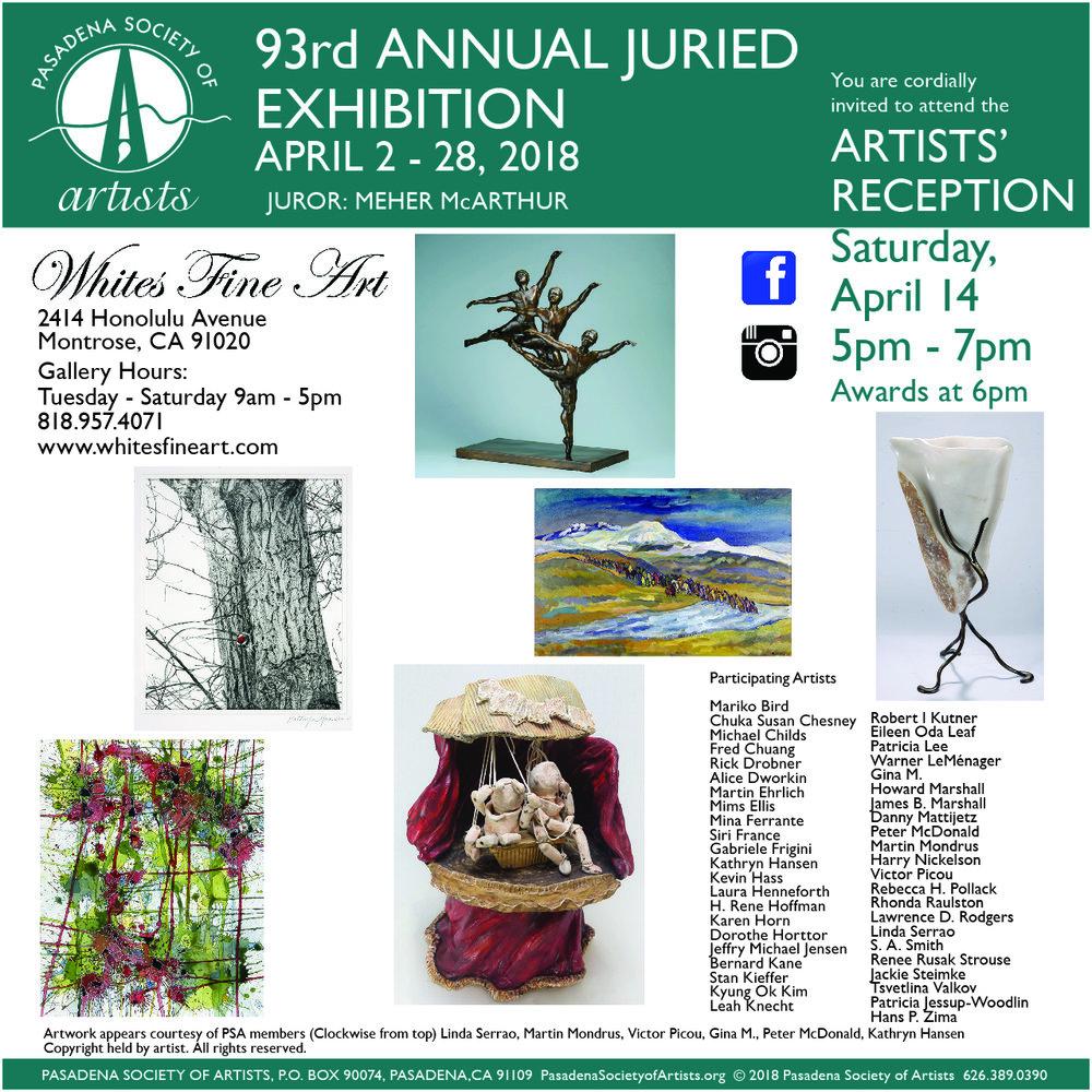 PSA 93rd Annual Juried Exhibition