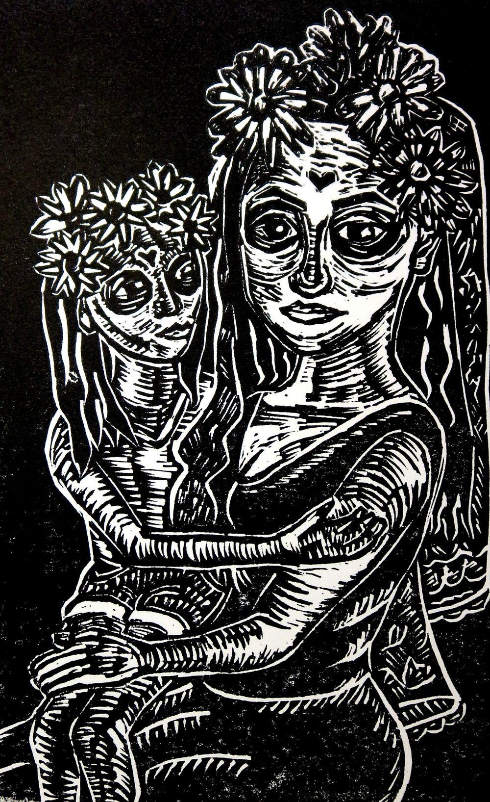 Mami and Baby Muerte 2.jpg