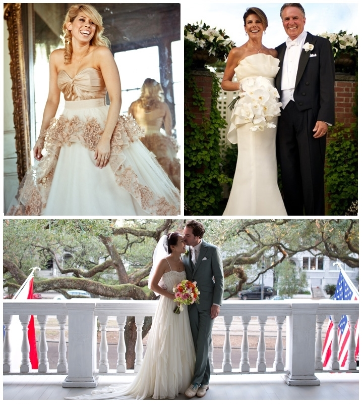 From Top Left Clockwsie: Custom Made Dress, Altered Dress, Altered Dress