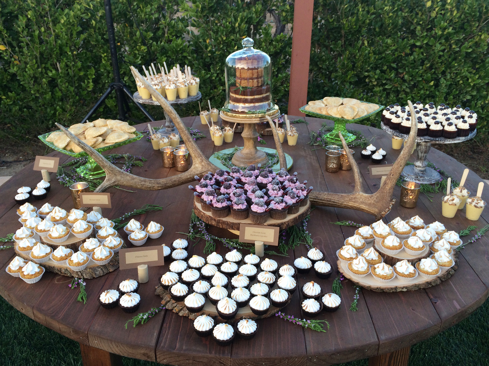 sugar divaz wedding dessert table