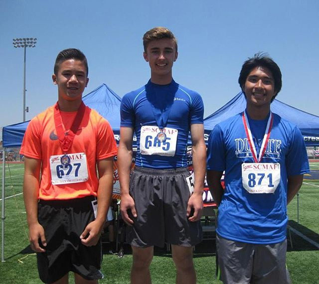 OCYSA (oc-ysa.org) would like to congratulate Andy Keehn on his 1st place performance in the 100 meters at the State SCMAF Championships. Your victory in this extremely prestigious State Track event is the fruit of the effort and time you've put in with Coach Charles Loftis! Keep up the hard work, never stop believing in yourself Andy! We look forward to training you back this Summer in the HB ATHLETIC EDGE PROGRAM (www.hbsands.org, activity# 341345) for even further success in high school this coming year!!! #andykeehn #tracknationusa #100m #statechamp #scmaftrackchampionships #speedandagility #hardworkpaysoff  #charlesloftis #orangecountyyouthsportsacademy #ocysa #ocysalife