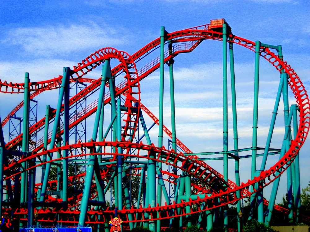 riding a roller coaster to loving Are you riding the lyme disease emotional roller coaster if so, then this article is for you.