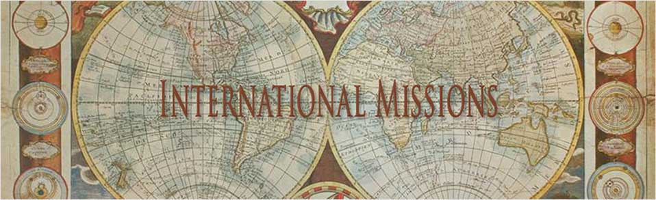 Considering a Call To International Mission — Hope Church