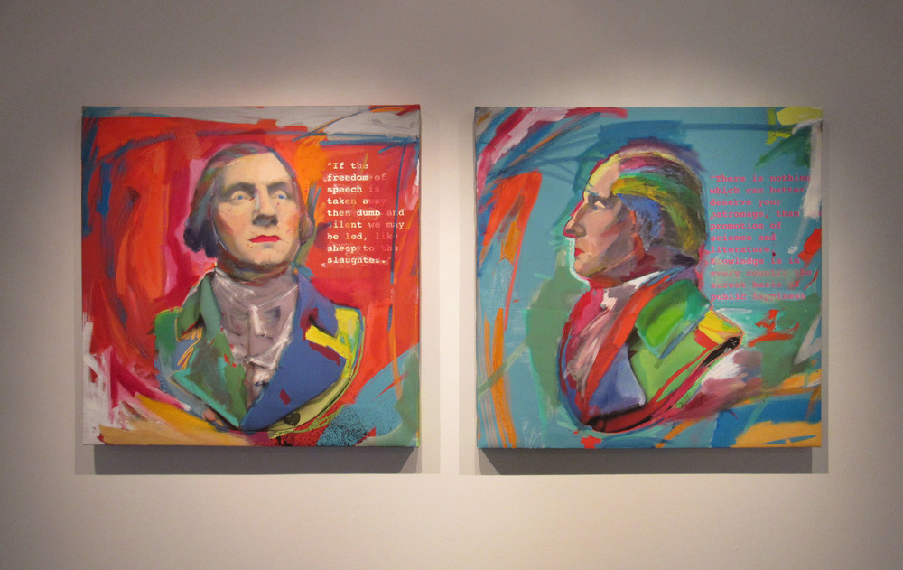Washington Diptych