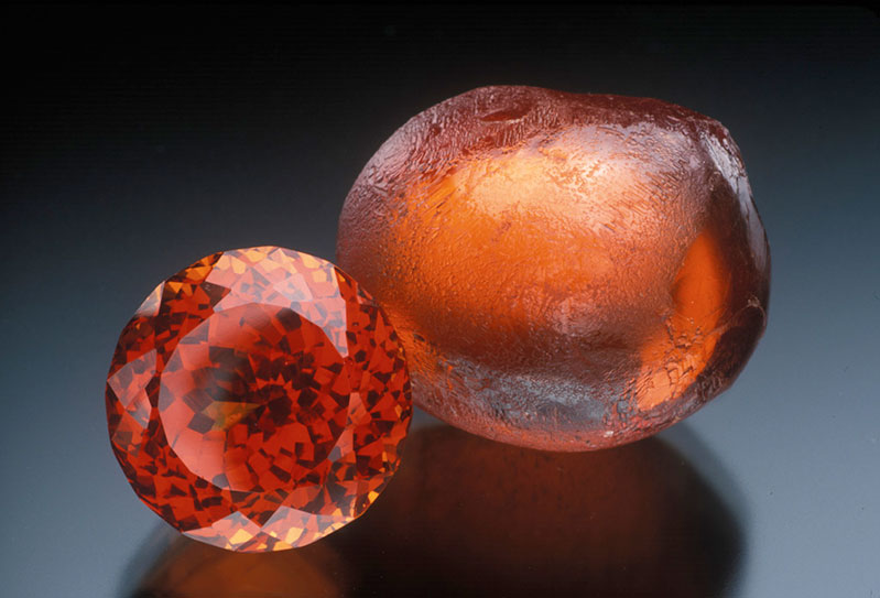 Malaya garnet, Umbar, Tanzania, 23 ct, Collection of William Larson.