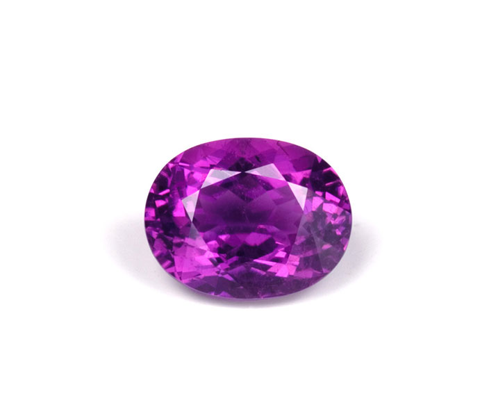 Purple tourmaline, Mozambique, 9.92 ct.