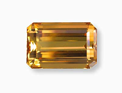 A magnificent 15.45-ct. imperial topaz from Brazil previously offered by Pala International. (Photo:    Wimon Manorotkul  )