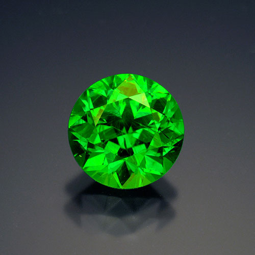 A 4.5-carat demantoid garnet from Russia