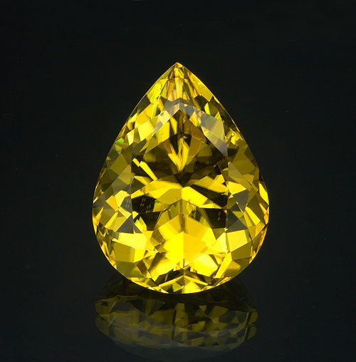 A 14-carat canary tourmaline from Malawi