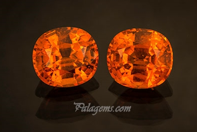 Spessartite garnets from Tanzania