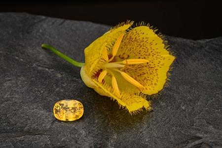Yellow Sapphire from Sri Lanka
