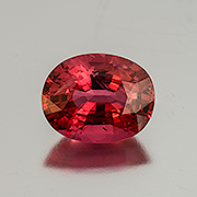 Spinel trap. An arresting natural Burma spinel, 7.33 carats. Inventory #22156. (Photo: Mia Dixon)