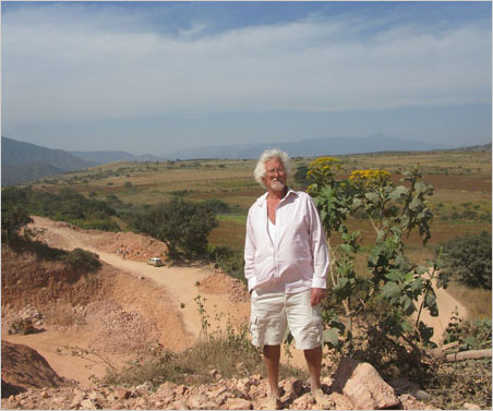 Dave Gibson at Miguel Tomayo's mine, near Magdalena, fifty miles northwest of Guadalajara.