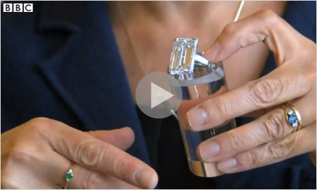 Imogen Foulkes briefly discusses the Victory diamond in this BBC video.