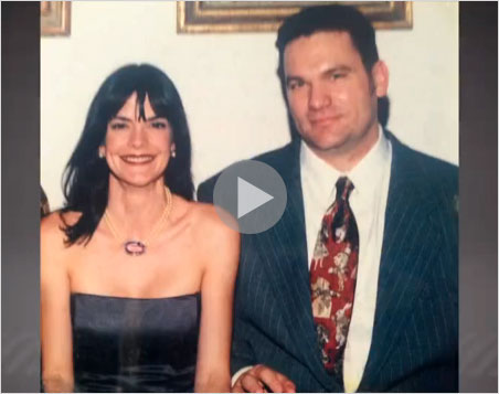 Still image from a Spanish-language video  report  by Costa Rica's Repretel media firm. The report takes the viewer through the lavish home of Ann Patton and John Bender as well as to a brief interview with Patton, posted a week before her conviction.