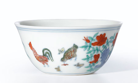 "BBC  quoted  Sotheby's Nicholas Chow as calling this cup the ""holy grail"" of Chinese art. (Photo: Sotheby's)"