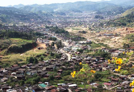 The Mogok Valley is home to half a million people. (Photo courtesy George Shen)