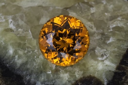 Spessartite from Nigeria