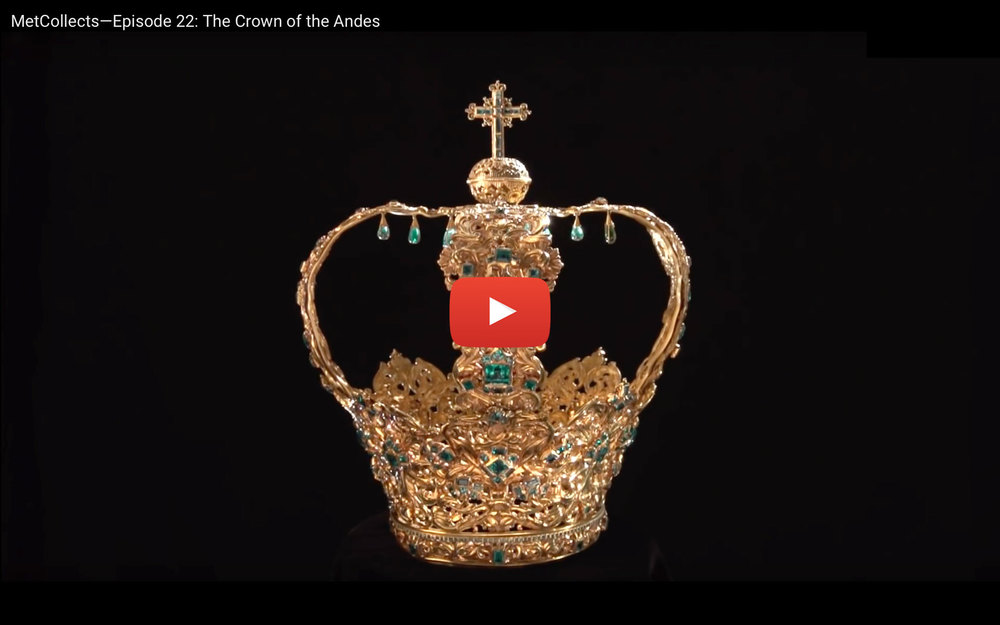 This video includes background on some of the more recent history of the Crown of the Andes.    Play video »