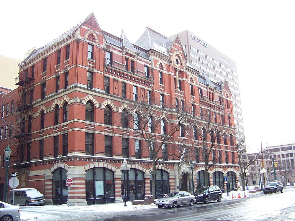 The building as it appeared in January 2008. (Photo: Lvklock via Wikipedia)